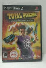 Playstation 2 Total Overdose Video Game New in Package Mature Bonus Disc