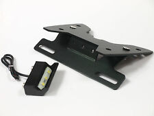 Support plaque + eclairage LED GSXR 600 750 2008 2009 2010 2011 2012 2016