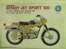 1967 Yamaha Trailmaster 100cc YL-2C   motorcycle sales brochure, (Reprint) $6.00