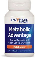Metabolic Advantage (+Bonus) Metabolism, Thyroid, Weight Loss Supplement 180 Cap