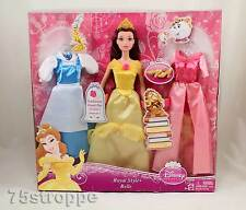 Disney Princess Royal Style Belle Doll with Clothes and Accessories New Sealed