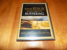 WHAT JESUS SAID ABOUT SUFFERING Bible Biblical Study Day of Discovery DVD NEW