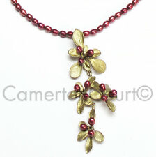 *Ours Exclusively!*  Barberry Shower Necklace by Michael Michaud  #8150