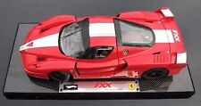 FERRARI FXX RACE CAR RED 1:18 by HOT WHEELS SUPER ELITE VERSION VERY RARE