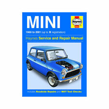 Mini 0.9 1.0 1.1 1.3 Petrol 1969-01 (up to X Reg) Haynes Manual FREE P+P