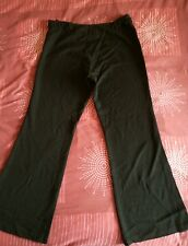 Ladies black maternity trousers size 12 from mothercare