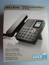 Belkin F1PP010EN-SK Desktop Internet Phone for Skype