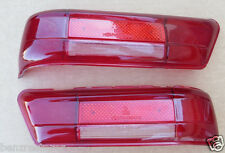 L&R all red taillight lens fits W111 W112 W113 chassis Mercedes