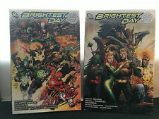 BRIGHTEST DAY Graphic Novels - Hardcover Vol. 1 & 2 - Justice League Comics