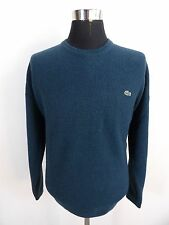Men's LACOSTE Jumper, Sweater, Size 7, XXL XXLarge, Blue, Crew Neck #BL1158