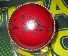 Shaun Tait (Australia) signed Red Kookaburra Cricket Ball + COA & photo Proof