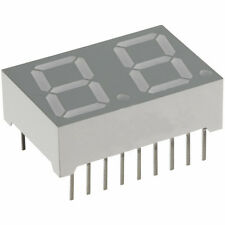"LTD-6402HG ""LITEON"" ( QTY: 2 PEZZI ) DUAL DIGIT  7-SEG..LED DISPLAY VERDE A.C."