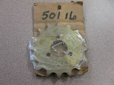 NOS 16 Tooth Front Sprocket #PBI-675 No Package FREE SHIPPING Inventory #24