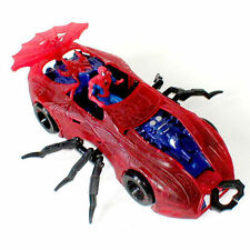 "Marvel Comics SPIDERMAN Spidermobile 12"" toy car for  4""-5"" figures"