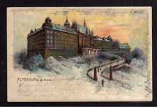 110636 AK Altenburg Schloss 1900 Litho halt gegen Licht Meteor Karte