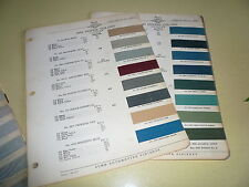 1940 Dodge ACME Proxlin Color Chip Paint Sample