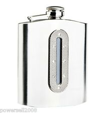 7oz Silver Stainless Steel Portable Liquor Alcohol Drink Hip Flagon Bottle