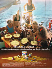 PUBLICITE ADVERTISING 024   1972   RIVOIRE & CARRET   pates