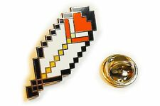 Super Mario World Bros CAPE FEATHER Retro SNES NES Hat Jacket Tie Tack Lapel Pin