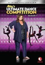 Abby's Ultimate Dance Competition Season 1 new sealed 3dvd set dance moms reg 4
