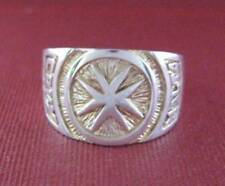 Solid silver ring Knights of the Order of Malta - 2349-R