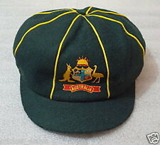 RETRO  AUSTRALIA TESTCLASSIC MELTON  GREEN BAGGY CAP  - For Cricket Bat Lover