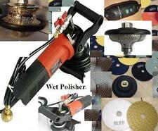 Wet Polisher V30 F30 Full Ogee Bullnose Router Bit 20 Pad Buff Concrete Granite