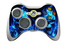 Blue Skull X box 360 Skins Vinyl Sticker Cover for X box Controller Game 1 pcs