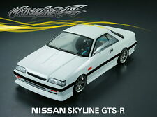 1/10 Nissan Skyline GTS-R 190mm RC Car Transparent Body