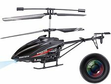 "Haktoys HAK635C 2.4GHz 17"" Video & Photo Camera 3.5CH RC Helicopter w/ LED Light"