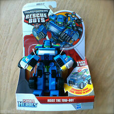 Transformers RESCUE BOTS HOIST The TOW-BOT PLAYSKOOL HEROES Hasbro Truck OLD!