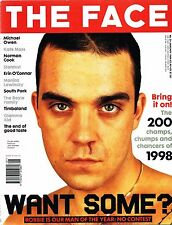 THE FACE 01/1999 ROBBIE WILLIAMS Aidan Moffat KATE MOSS Malcolm Middleton CHER