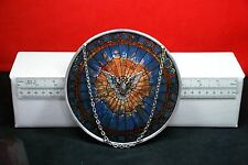 """""""The Holy Spirit"""" Round stained glass Sun Catcher"""