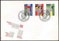 Switzerland 1993 Stamps 150th Anniv FDC First Day Cover #C20155