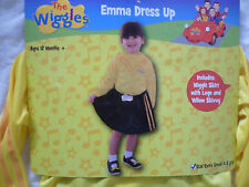 THE WIGGLES -YELLOW EMMA Dress Up Costume Extra Small Size 1-3 Yrs FREE SHIPPING