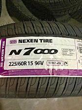 4 New 225 60 15 Nexen N7000 Tires