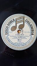 SPANISH 78 rpm RECORD Columbia JOSE MARDONES Dame más / Perjura