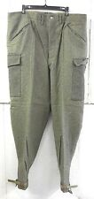 "UNISSUED WWII (DATED 1942) SWEDISH M39 ARMY WOOL FIELD TROUSERS (40"" WAIST)"