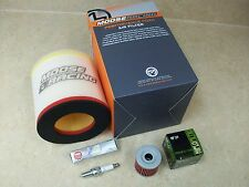 SUZUKI QUADRACER LTR 450 LT R450 TUNE UP KIT AIR + OIL FILTER IRIDIUM SPARK PLUG