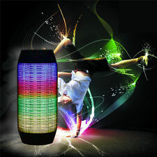 Portable PULSE LED Light Wireless Bluetooth Stereo Speakers for Samsung iphone