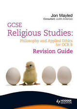 GCSE Religious Studies: Philosophy and Applied Ethics R - Anderson, Jon M NEW Pa
