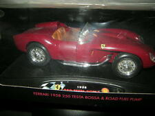 1:18 Hot Wheels Ferrari 250 Testa Rossa & Road Fuel Pump 1958 SHELL OVP
