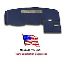 1994-1997 Chevy S-10 Pick Up Dark Blue Carpet Dash Cover Mat Pad CH2-2 USA MADE