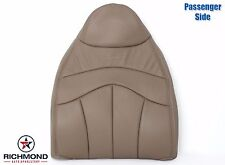 1999 Ford F150 Lariat Extended-Cab -Passenger Lean Back Leather Seat Cover TAN