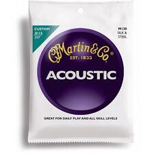 Martin 130 Silk & Steel - Jeu de cordes Guitare acoustique