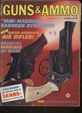 GUNS AND AMMO MAGAZINE - February 1968