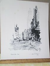 Vintage Print,BLACKSTONE STREET,Boston,Hoyland BETTINGER,1927