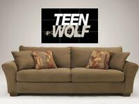 """TEEN WOLF MOSAIC 35""""X25"""" INCH WALL POSTER TYLER POSEY"""