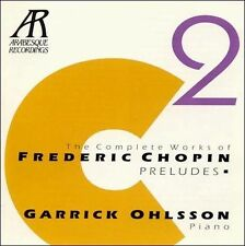 GARRICK  PIANO OHLSSON - Chopin: The Complete Piano Works, Vol... CD SEALED/ NEW