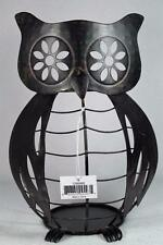 Yankee Candle 'Metal Owl' Large Jar Holder for Medium & Large #1295686 NIB